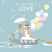 Blank Card All You Need Is Love (BB78640)